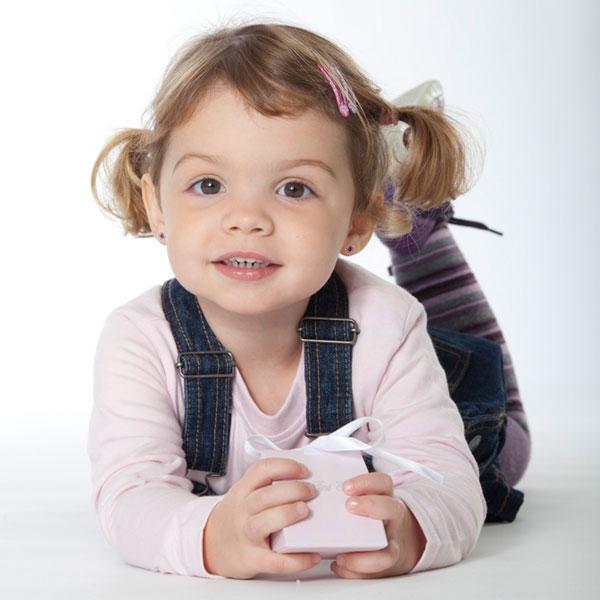 Süße Ohrringe auch für die Kleinen