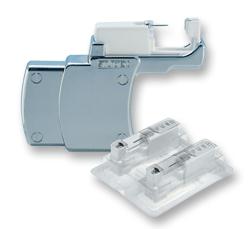 Nur bei Studex-Partnern im Einsatz: Studex System 75 mit Erststeckern in sterilen Kartuschen