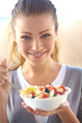 Gezond eten is extra lekker in de lente.