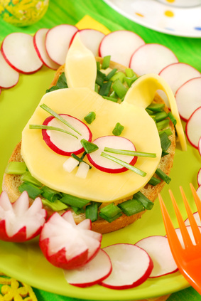 Easter Gift Ideas and Activities for Kids: Healthy Snacks Made with Love — Easter Bunny