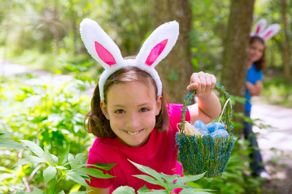 Easter Gift Ideas and Activities for Kids: Easter Egg Hunt Outdoors
