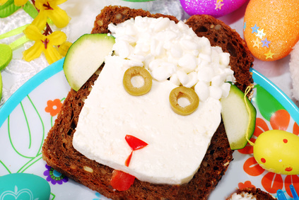 Easter Gift Ideas and Activities for Kids: Healthy Snacks Made with Love — Easter Lamb