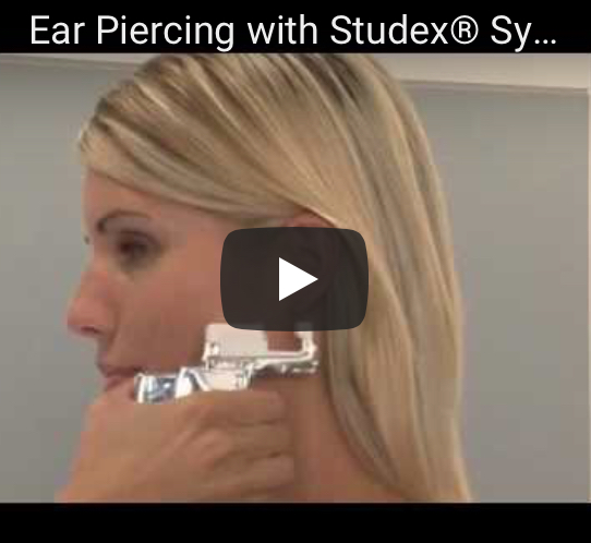 Preview van Ear Piercing met Studex® video